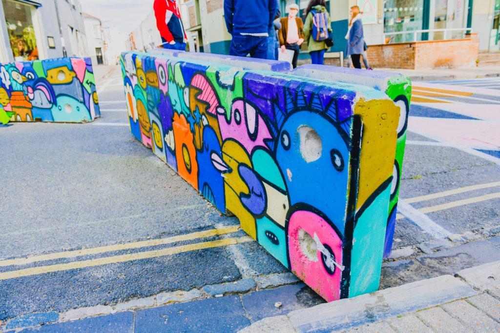 Bedford Place Public Realm Street Art